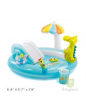 6.9ft Crocodile Pool