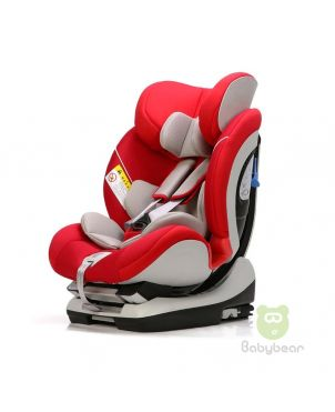 Lux IsoFix Car Seat - Red/White