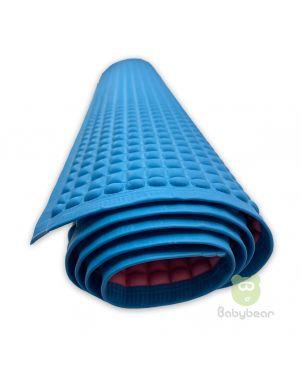 Bubble Rubber Mackintosh - Blue Water Proof Rubber Sheet