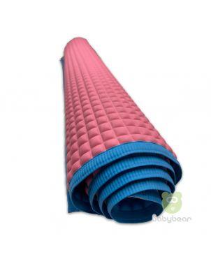 Bubble Rubber Mackintosh - Pink waterproof Rubber Sheet