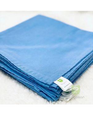 Nappy 22X22 (6Pc) Full Blue Babybear®