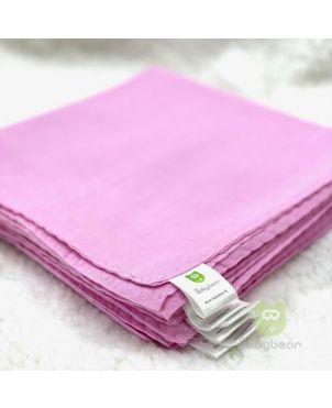 Nappy 22X22 (6Pc) Full Pink Babybear®