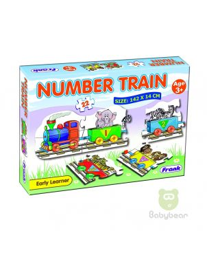 Number Train Puzzle - Early Learner 3+