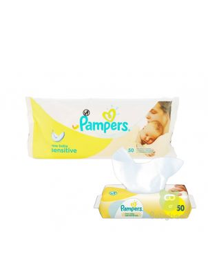 Pampers Wipes 50 Sheets
