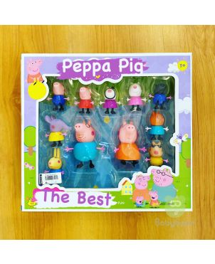 Peppa Pig Figurine Set