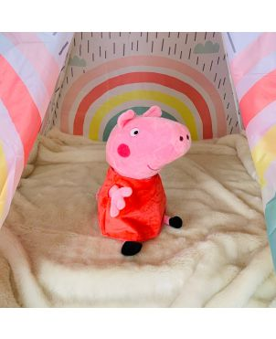 Uber soft Peppa perfect for cuddles!