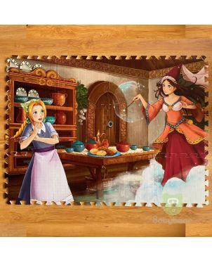 Puzzle Mat 1x1ft Play Mat Princess