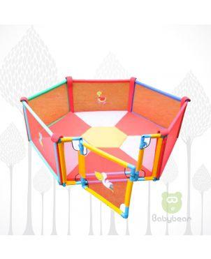 Babybear Playpen with Gate and Premium Mattress