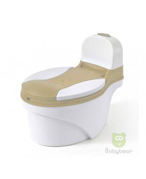 Commode Potty Training- Cream