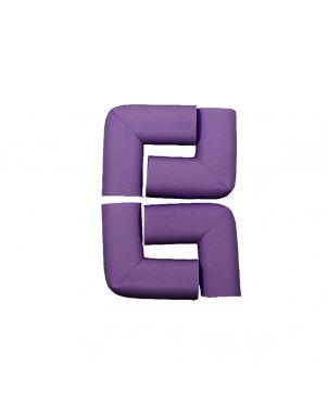 Rubber Corner Guard- Purple