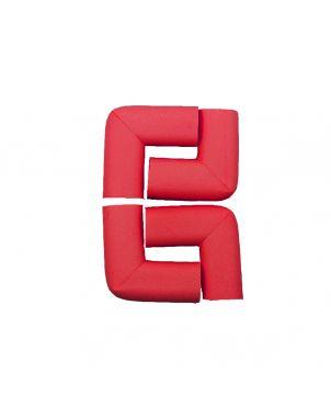 Rubber Corner Guard- Red
