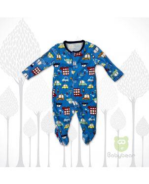 Baby Sleep Suit - Cars