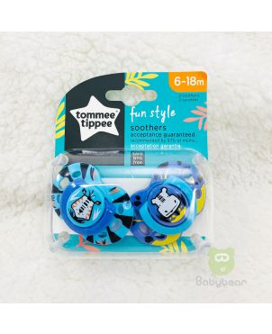 TommeeTippee Soother 6-18m Pacifier  -Blue