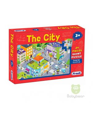 The City 24 Pieces Giant Puzzle - Early Learner 3+
