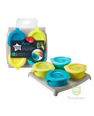 Tommee Tippee PopUps Freezer Pots and Tray