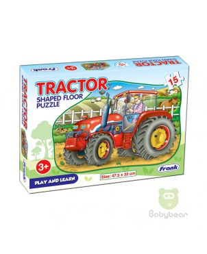 Tractor Shaped Floor Puzzle - Early Learner 3+